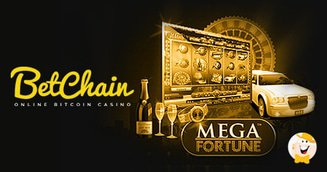 NetEnt Mega Fortune Pooled Jackpot at BetChain