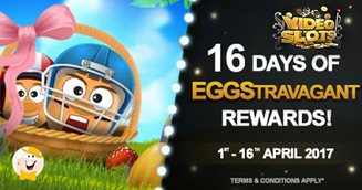 16 Days of VideoSlots.com Easter Trophies