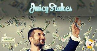 Juicy Stakes April Blackjack Boosts and Cashback