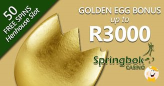 Springbok Giving Away Golden Egg Mystery Prize