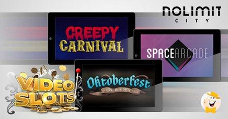 NoLimit City Games Now at VideoSlots