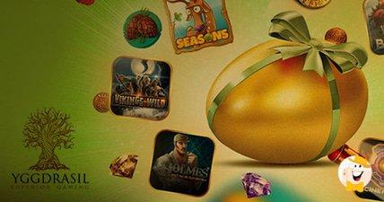 Yggdrasil gamings mystery easter egg hunt