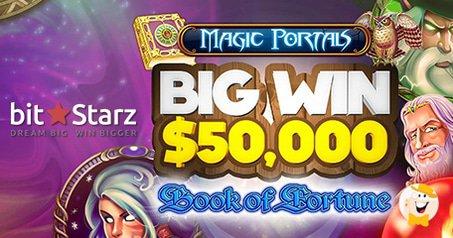 BitStarz Player Spins $50 into $50,000