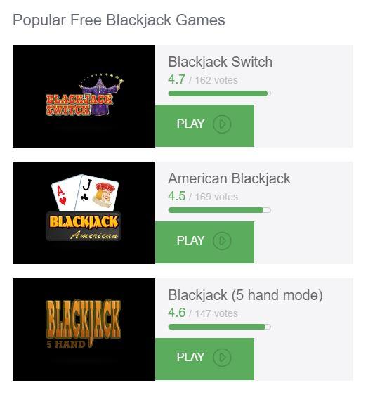 blackjack regeln gleichstand